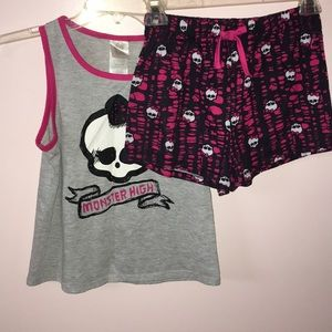 """MONSTER HIGH"" PAJAMA SET"